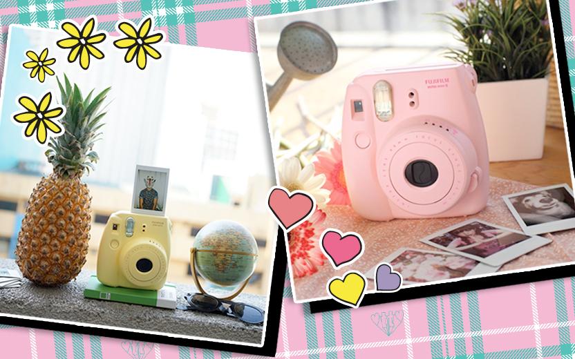 """10 dicas para compor fotos """"Tumblr"""" com a sua Instax"""