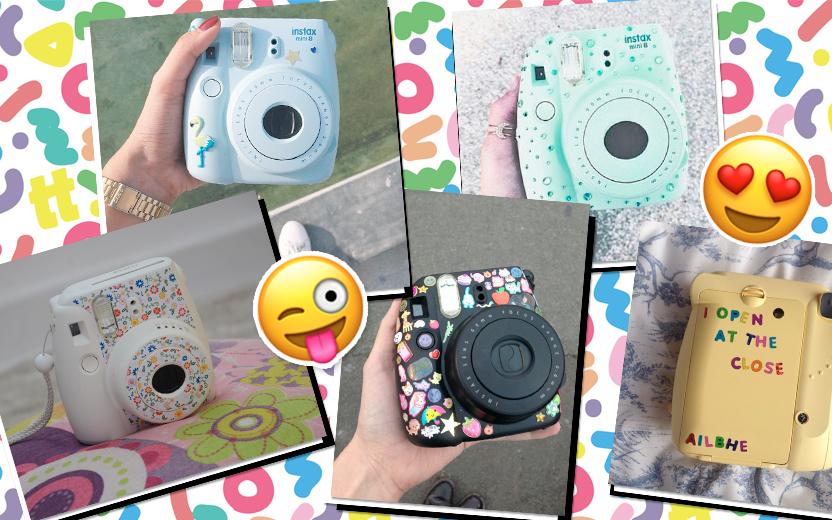 10 fotos de Instax customizadas para te inspirar!