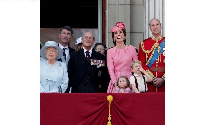 Príncipe George completa 4 aninhos