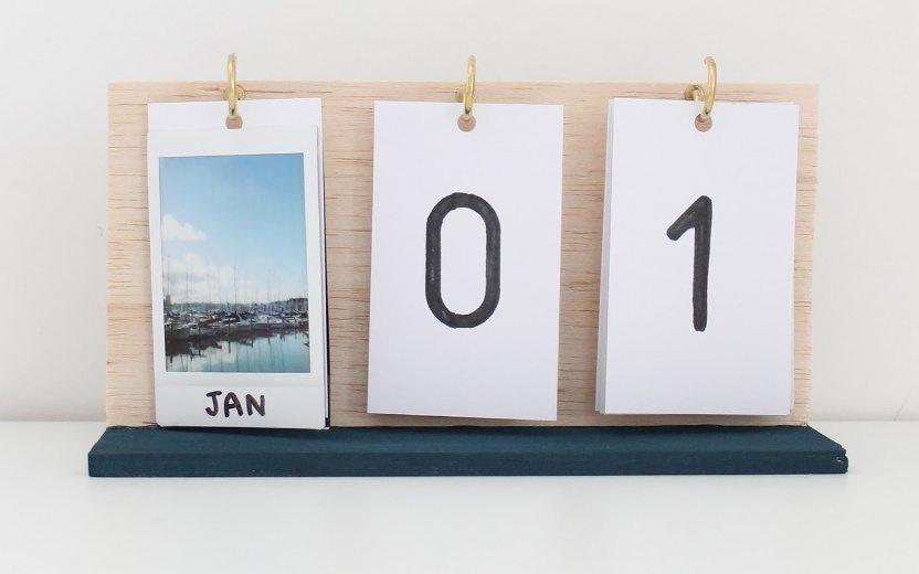 DIY: faça um calendário personalizado com fotos Instax e presenteie!