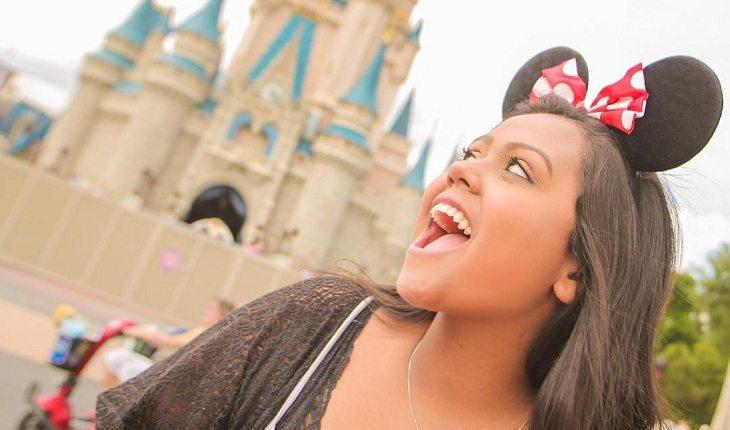 Camila Loures na Disney