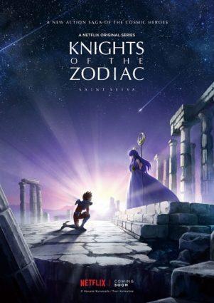 Netflix anuncia série original de Cavaleiros do Zodíaco
