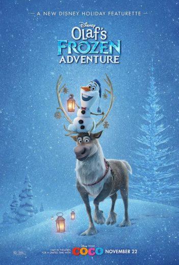 Confira o cartaz de Frozen - Uma Aventura de Olaf!
