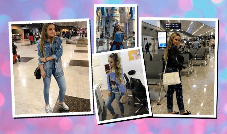 Looks da Larissa Manoela com jeans