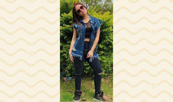 Looks da Larissa Manoela: colete