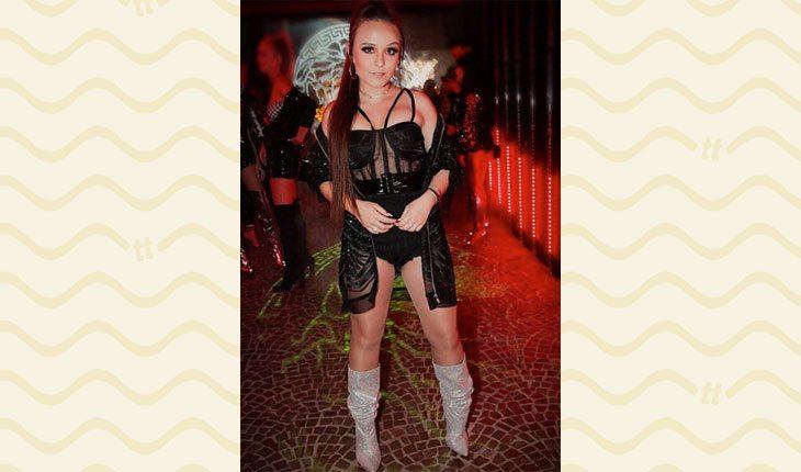 Looks da Larissa Manoela: transparência