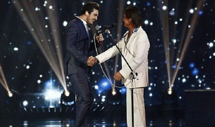 Luan Santana no especial de fim de ano do rei Roberto Carlos