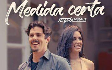 Jorge e Mateus apresenta clipe de Medida Certa com Kéfera