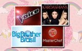 Reality Show: the voice, big brother brasil, masterchef e keeping up with the kardashians