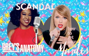 Shonda e Taylor Swift