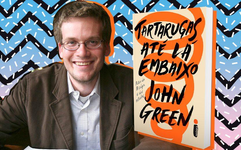 """Tartarugas Até Lá Embaixo"""", novo livro de John Green, ganha data de  lançamento no Brasil"""