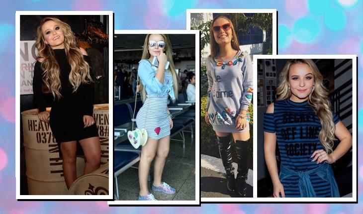 Looks da Larissa Manoela com vestidos