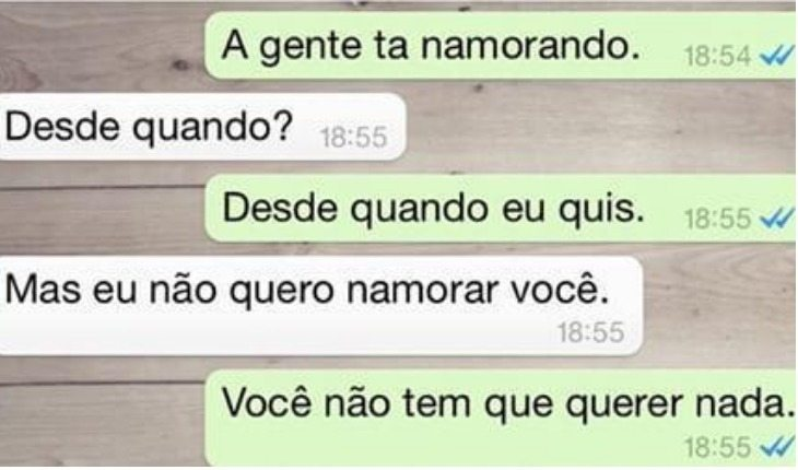 crush no WhatsApp