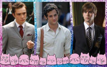 Dan, Nate e Chuck de Gossip Girl