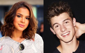 "Vídeo de Bruna Marquezine e Shawn Mendes conversando no ""Rock in Rio"" viraliza nas redes"