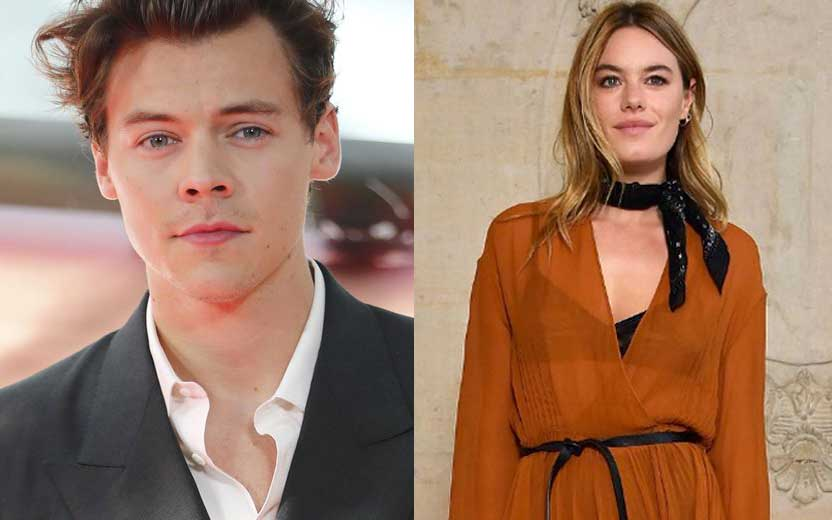 harry styles e camille rowe