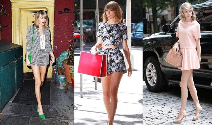 Looks da Taylor Swift para se inspirar