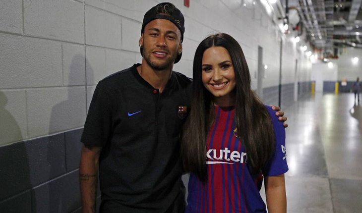 Neymar e Demi Lovato