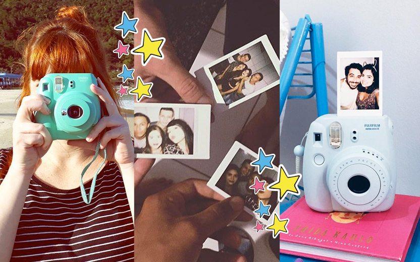 As melhores fotos da hashtag #CelebreComInstax!