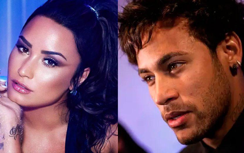 Demi Lovato teria convidado Neymar para o seu novo clipe