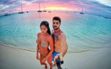 DJ Alok reata com a ex-namorada Romana Novais