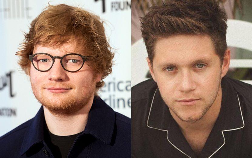 Ed Sheeran e Niall Horan
