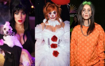 fantasias dos famosos no Halloween