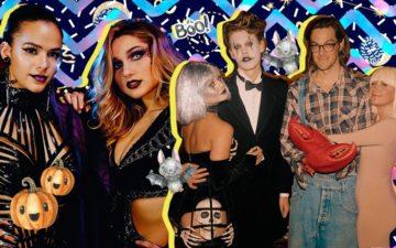 Fantasias dos famosos no Halloween: Sasha e Bruna Marquezine, Vanessa Hudgens e Ashley Tisdale