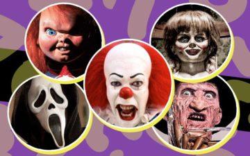 personagens de filme de terror