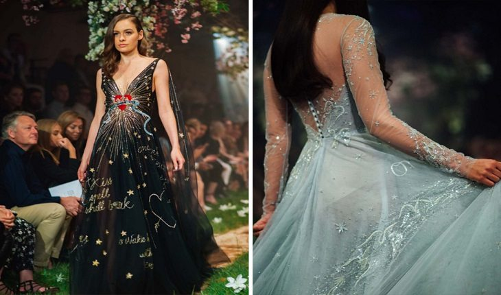 7f3b100afcc Estilista lança os vestidos inspirados nas princesas Disney!