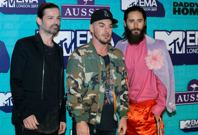 vencedores do EMA 2017