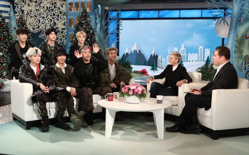 BTS no The Ellen Show