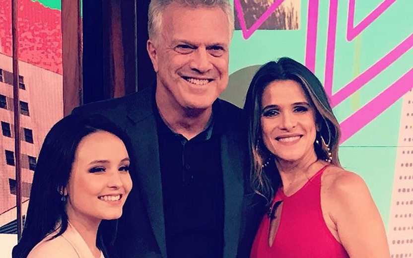Larissa Manoela na Globo e entrevistada por Pedro Bial  saiba mais! adceb03967