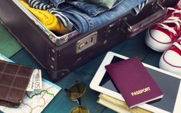 Coisas para serem organizadas na hora de fazer a mala viajar