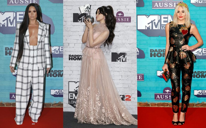 looks do MTV EMA 2017