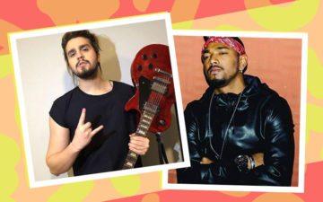 Alerta de lacre: Luan Santana e Nego do Borel vão lançar música juntos