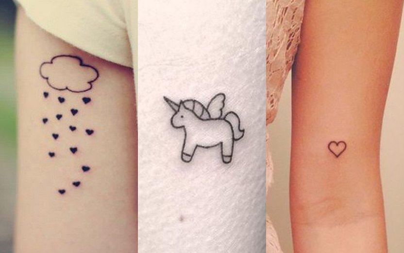 Primeiras Tatuagens Veja Modelos Para Você Se Inspirar