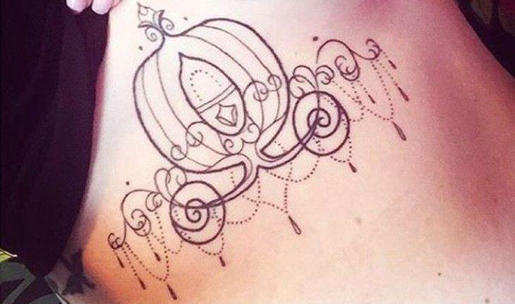 tatuagem da Disney