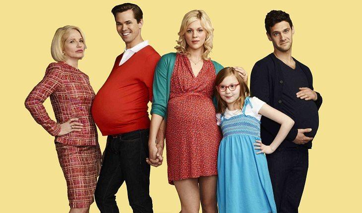 Família da série new normal