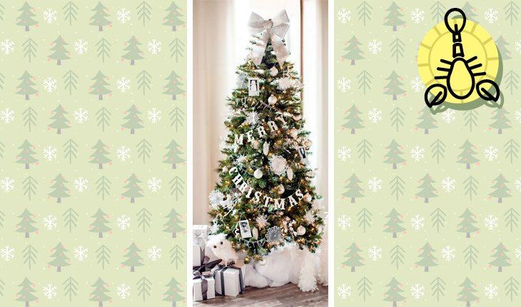 Árvore de Natal do signo de Escorpião