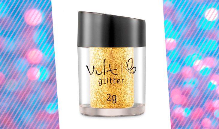 maquiagem com glitter