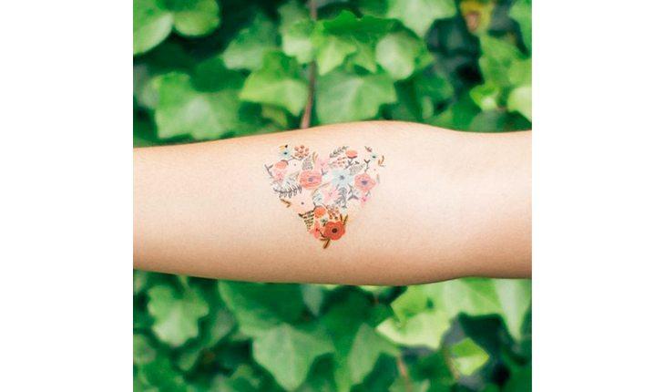tatuagem de coração