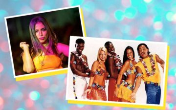 Anitta e grupo É o Tchan