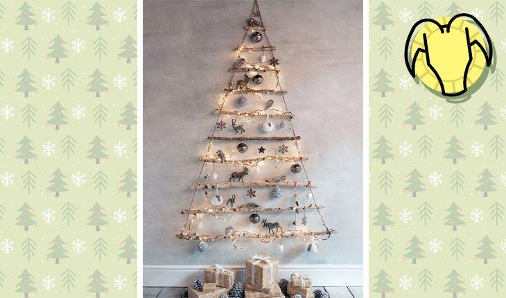 Árvore de Natal do signo de Capricórnio