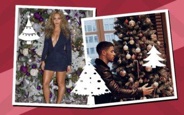Árvore de natal dos famosos: vem babar com os modelos e enfeites!