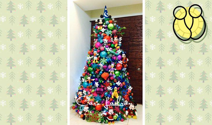 Árvore de Natal do signo de gêmeos