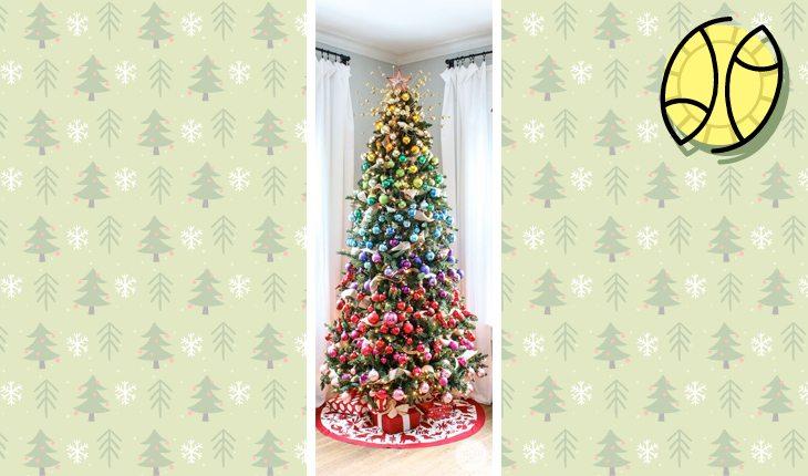 Árvore de Natal do signo de peixes