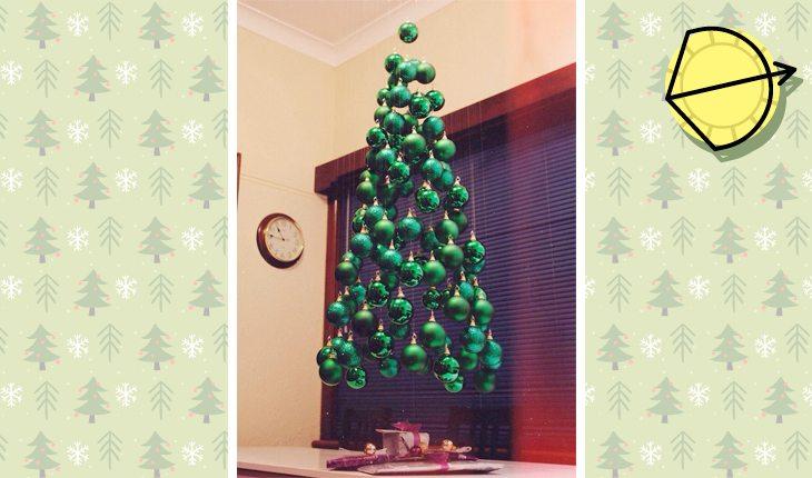 Árvore de Natal do signo de Sagitário