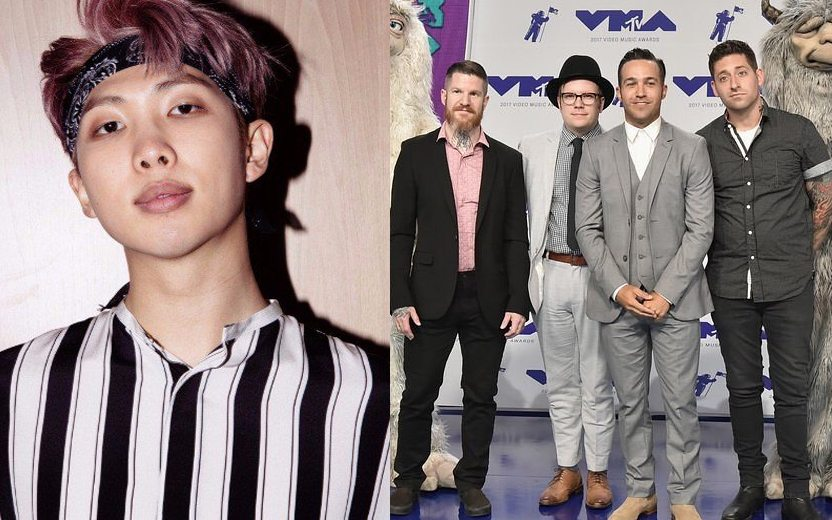 BTS e Fall Out Boy