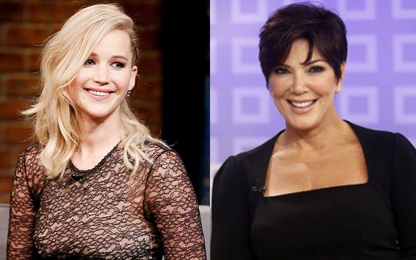 Jennifer Lawrence natal Kris Jenner